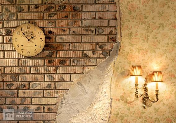 Ресепшн. Декор стен