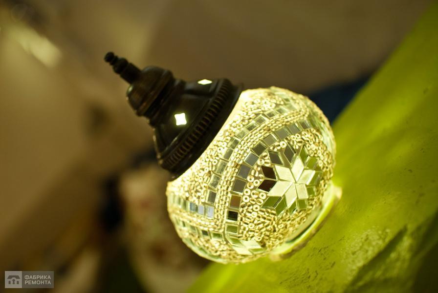 Оригинальные светильники в восточном стиле