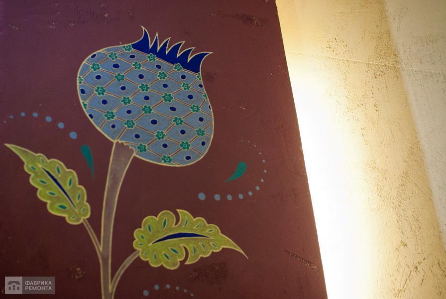 Декор стен - ручная роспись
