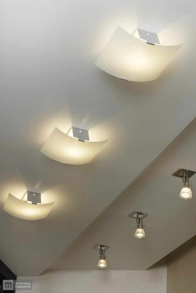 Светильники в прихожей
