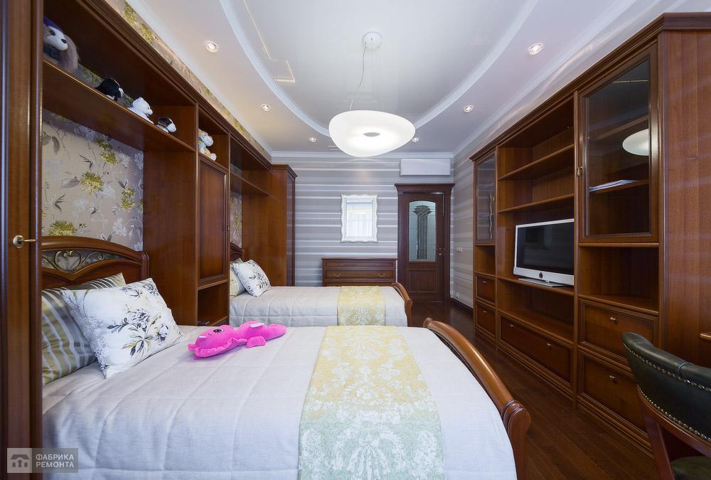Детская спальня - сочетание классики и современности