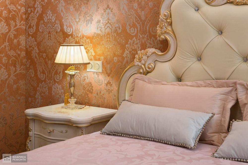 Хозяйская спальня. Текстильный декор