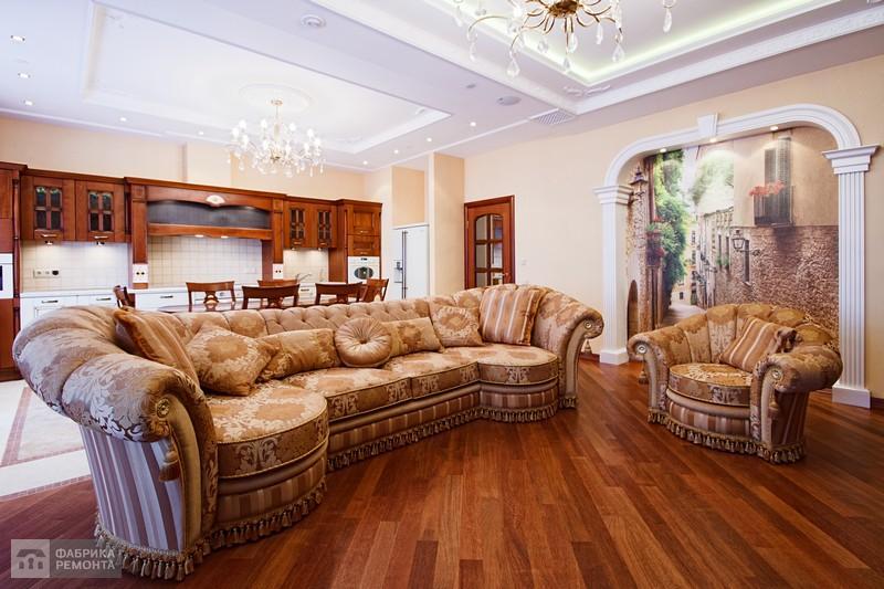Гостиная. Уютный диван